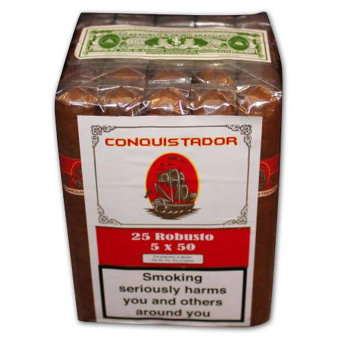 Conquistador Robusto Cigar - Bundle of 25